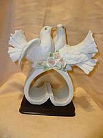 Декоративная статуэтка пара голубей 24 сантиметров высота