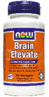 Брейн Элевейт, Now Foods, Brain Elevate, 60  Caps