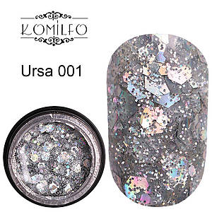 Komilfo Star Gel №001 Ursa, 5 мл