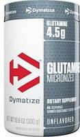 Глютамін Dymatize nutrition Glutamine (300 г) (101686) Фірмовий товар!