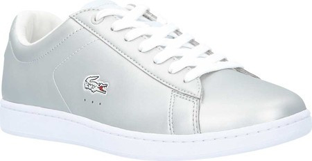 834025c0ff96 Женские кроссовки Lacoste Carnaby EVO 117 Sneaker Light Grey Synthetic  Leather