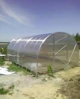 4х6м теплица с поликарбонатом сотовым 4мм