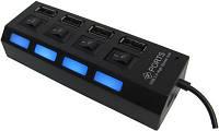 USB хаб hub 4 порта разветвитель удлинитель POWER, фото 1