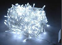 Новогодняя светодиодная гирлянда 100 диодов белая