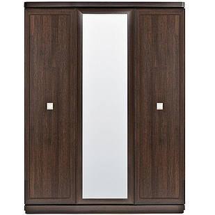 Шафа (шкаф) з ДСП/МДФ в спальню/вітальню/дитячу, вітальню, дитячу з дзеркалом 3Д SZF3D Oregon BRW