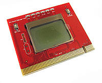 PCI POST карта с текстовым оповещением анализатор