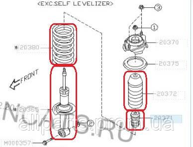 Subaru Forester SH (2008-12) переход  с антикрена на  стандартную продвеску – отзывы, описание