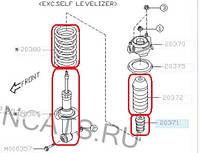 Subaru Forester SH (2008-12) переход  с антикрена на  стандартную продвеску – отзывы, описание, фото 1