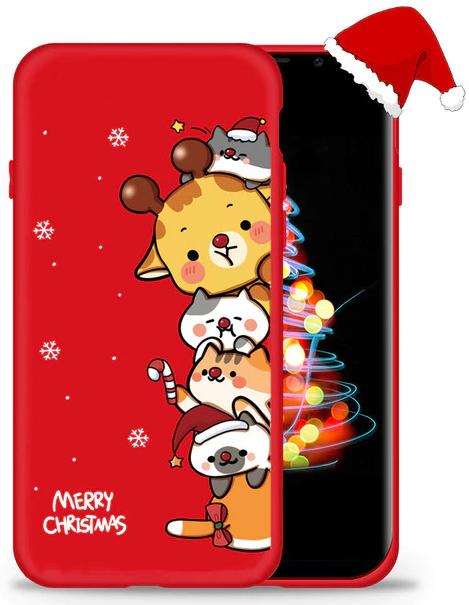 Новогодний Чехол для Samsung Galaxy S8