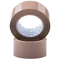 Скотч коричневый упаковочный 48 х 160м 40мкм  коричневая