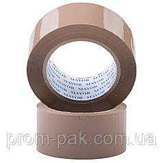 Упаковочная клейкая лента 48 х 100м 40мкм  коричневая