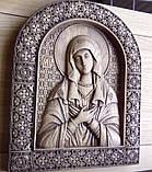 """Иконы резные из дерева. Икона Божией Матери  """"Умиление"""", фото 2"""