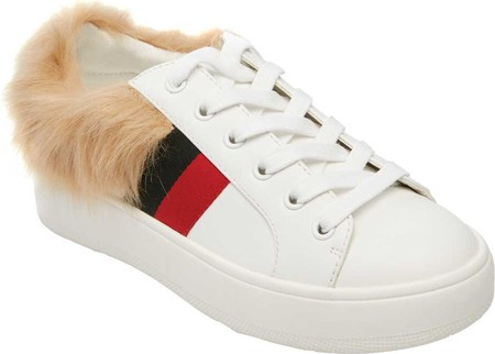 Женские кроссовки Steve Madden Belle Sneaker White Multi Synthetic -  SaleUSA