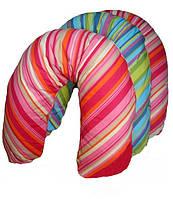 Подушка для беременных и кормления ребенка EKO (чешуя полбы) WOMAR (164 х 70 см) хлопок