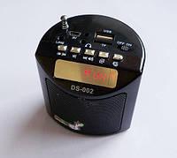 Мини портативная MP3 колонка радио USB FM DS-002, фото 1
