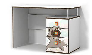 Стіл в дитячу кімнату з ДСП/МДФ письмовий Джой Matroluxe