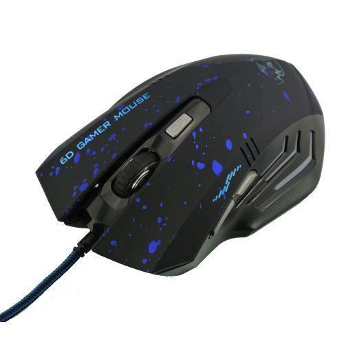 USB игровая мышь мышка 6D Gamer Mouse 929 Blue