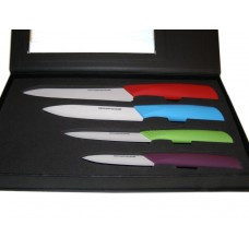 Набор керамических ножей 4 в 1 in Black Box