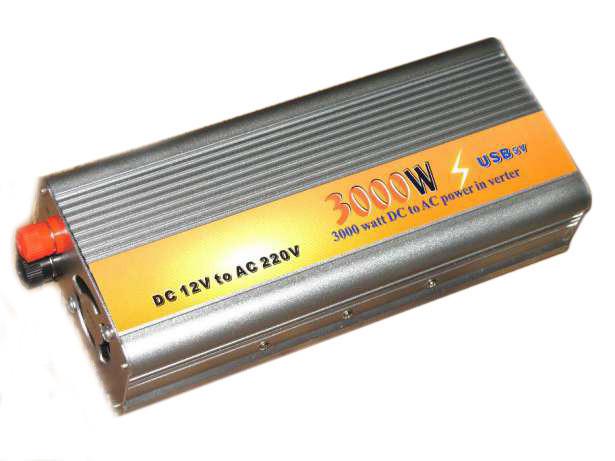 Преобразователь авто инвертор 12V-220V 3000W