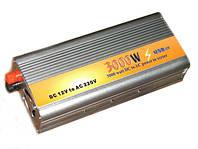 Преобразователь авто инвертор 12V-220V 3000W, фото 1