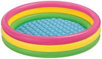 Детский надувной бассейн Intex 57412 круг 114х26см, фото 1