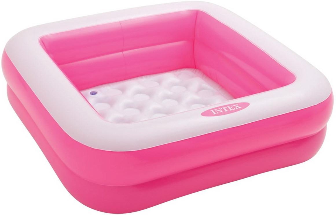 Детский надувной бассейн Intex 57100 Pink