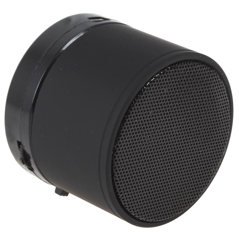Мини портативная MP3 колонка от USB FM S10 Black, фото 1