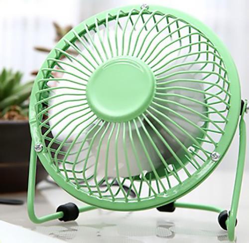 USB настольный вентилятор Green