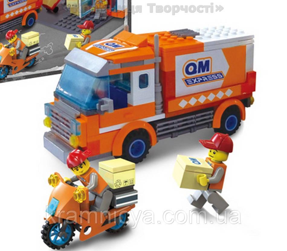 Конструктор 'Brick' 1119, 334 детали, в коробке 37х27х6,5см (1119)