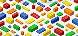 Конструктор 'Brick' 1119, 334 детали, в коробке 37х27х6,5см (1119), фото 4