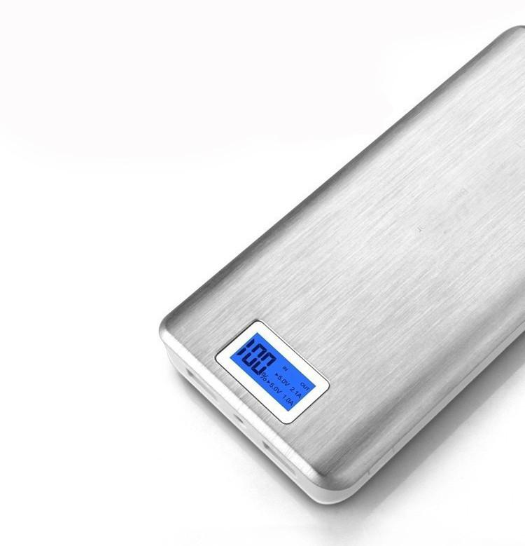 Портативное зарядное Power Bank 28800 mah LCD