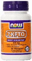 7-Кето, Now Foods, 7-Keto, 100 mg, 30 Veggie Caps