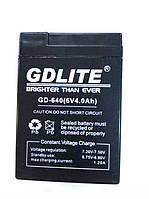 Аккумулятор батарея GDLITE 6V 4.0Ah GD-640, фото 1