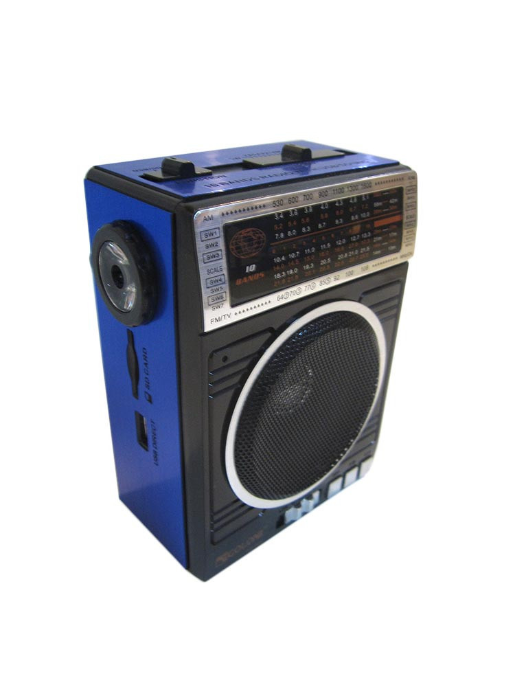 Радиоприемник колонка MP3 Golon RX-078 Blue, фото 1