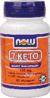 7-Кето, Now Foods, 7-Keto, 100 mg, 60 Veggie Caps