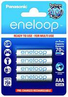 4шт акумулятор Panasonic Eneloop AAA 750 Mah