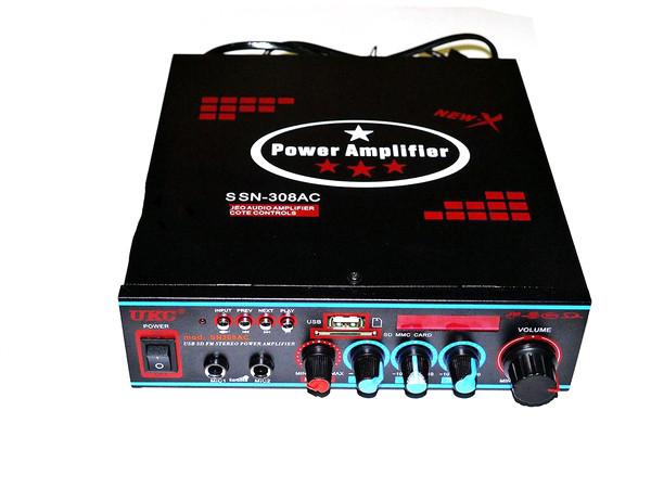 Підсилювач звуку UKC SN-308AC USB+SD+MP3 караоке