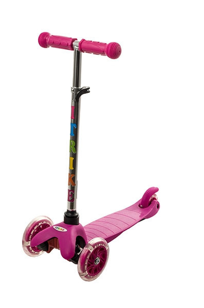 Трехколесный самокат iTrike Scooter 3-013-4 Pink
