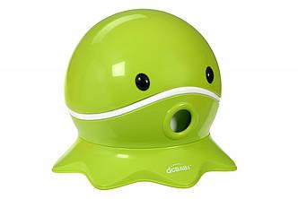 Дитячий горщик QCBABY Восьминіг зелений QC9906green