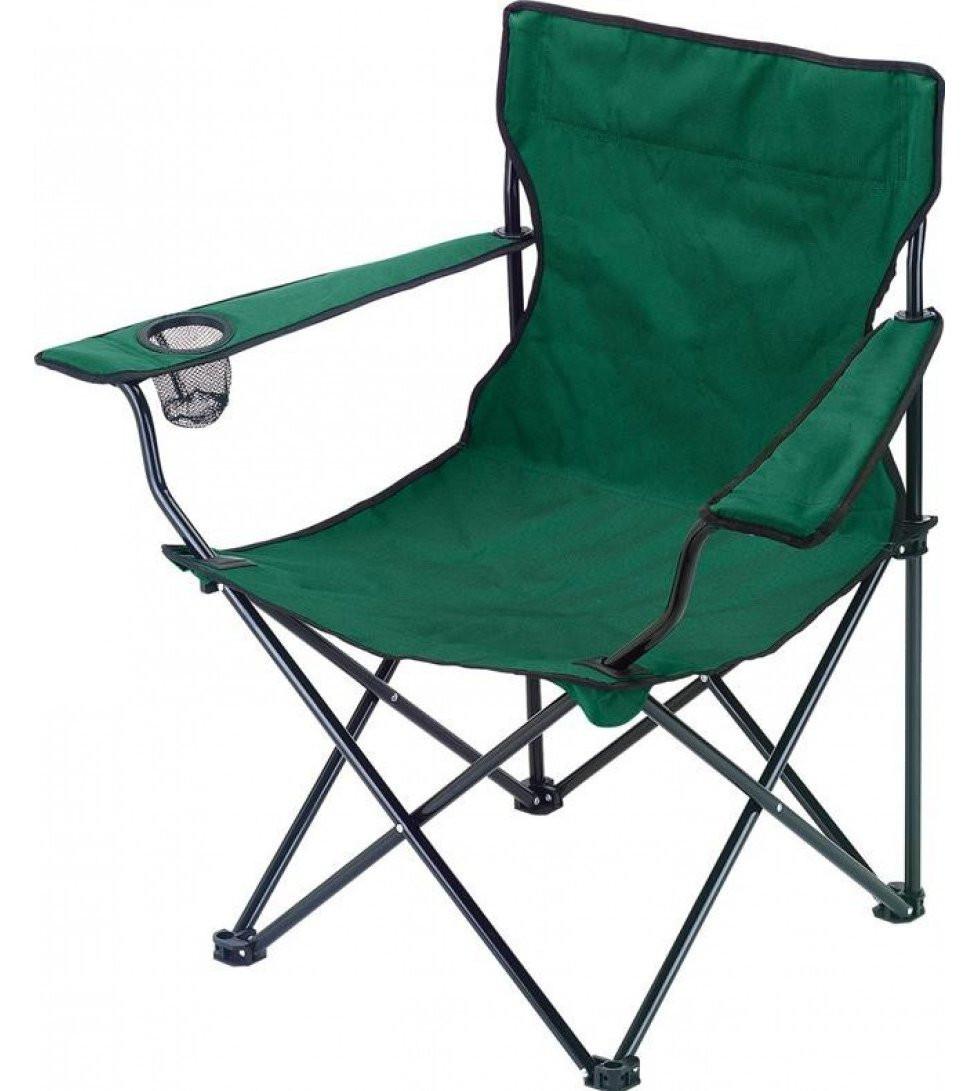 Раскладное кресло паук с подстаканником Green, фото 1
