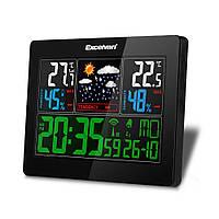 Безпровідна метеостанція, кольоровий дисплей Excelvan, фото 1