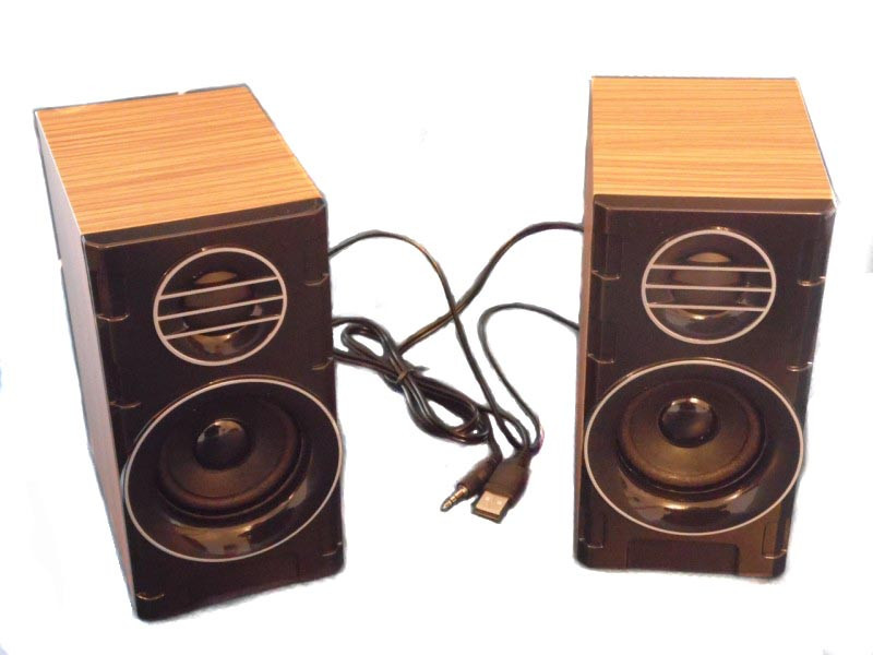 Колонки для ПК компьютера F&T SW-2031 Wooden