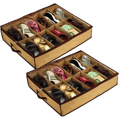2шт органайзер для хранения обуви Shoes under