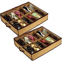 2шт органайзер для хранения обуви Shoes under, фото 1