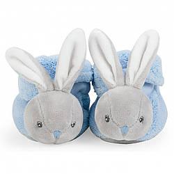 Пинетки Kaloo Plume Кролик голубой 0-3 мес. K969572