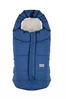 Зимний конверт NUVITA 9045 Ovetto CITY голубой/бежевый