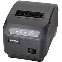 Термопринтер POS чековый принтер c автообрезкой XP-Q200II 80мм, фото 1