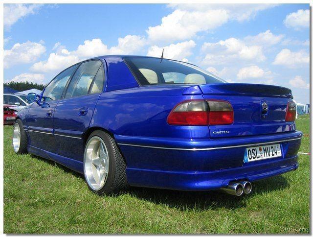 519e7b14121 Юбка обвес заднего бампера Opel Omega B дорестайл - купить по лучшей ...