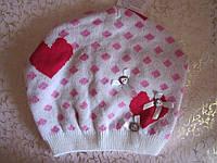 """Детская весенняя шапка для девочек """"счастье, фото 1"""