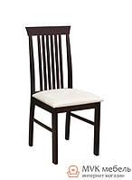 """Классический стул """"Кольт"""" (ТК маренго беж) (венге)"""